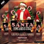 Bad Santa Christmas Flyer