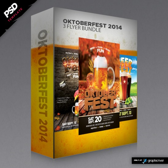 Oktoberfest 2014 Flyer Bundle