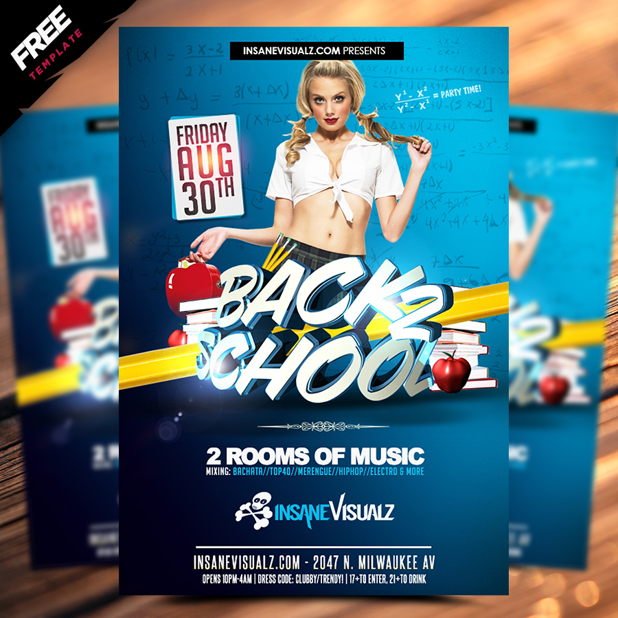 Back to school free flyer by fernando de leon add to wish list free