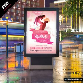 Mother's Day Ad Design