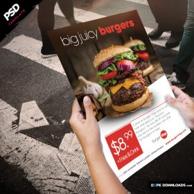 Burgers Poster Template