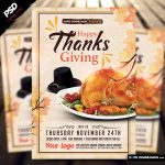 "<span itemprop=""name"">Happy Thanksgiving Flyer Template</span>"