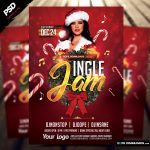 Jingle Jam X-Mas Flyer Template